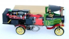 Ministeam Live Steam Lorry